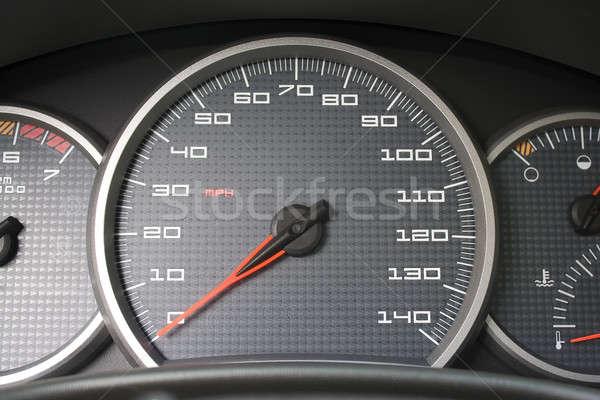 Car Dashboard Gauges Stock photo © ArenaCreative