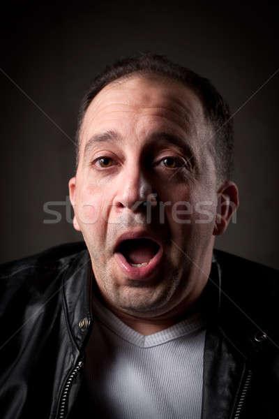 Surprised Man Stock photo © ArenaCreative