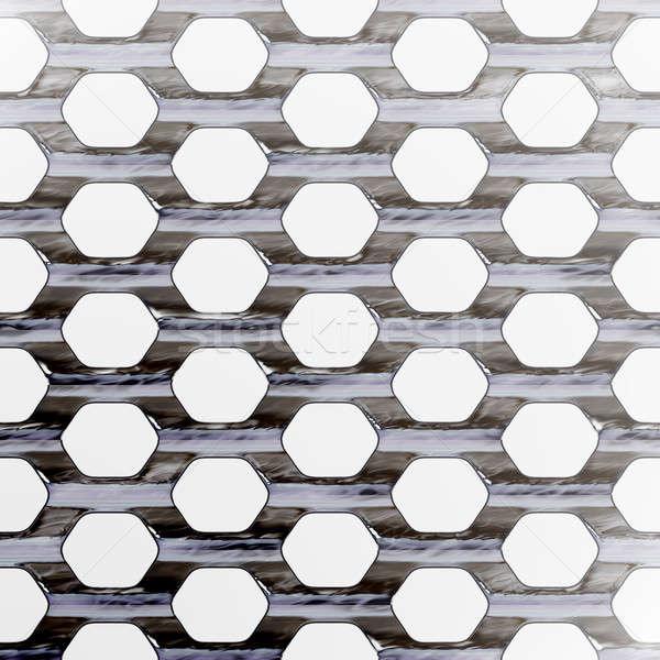 Steel Mesh Stock photo © ArenaCreative