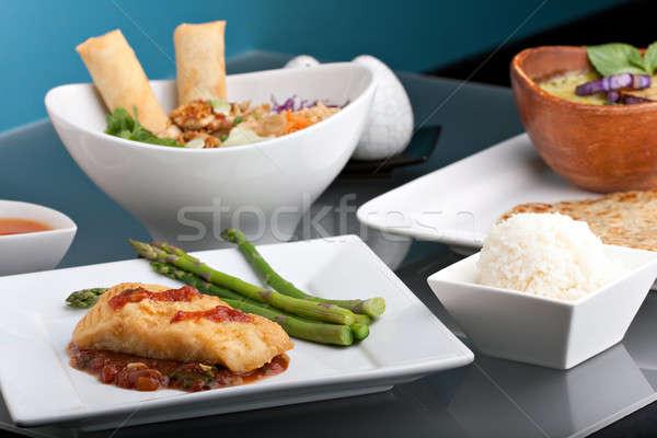 美しい タイ料理 準備 タイ ストックフォト © ArenaCreative