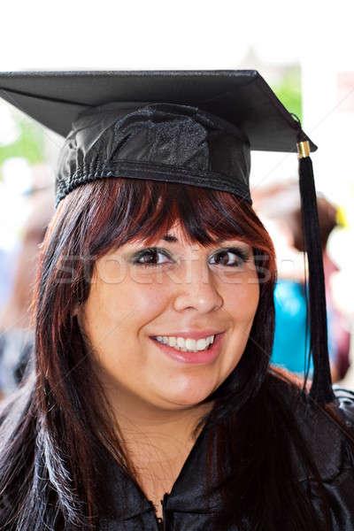Smiling School Graduate Stock photo © ArenaCreative