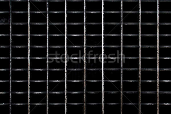 Worn Metal Grate Stock photo © ArenaCreative