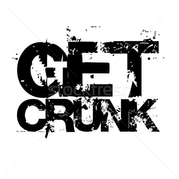 Get Crunk Stock photo © ArenaCreative