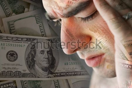 Stressed Over Money  Stock photo © ArenaCreative