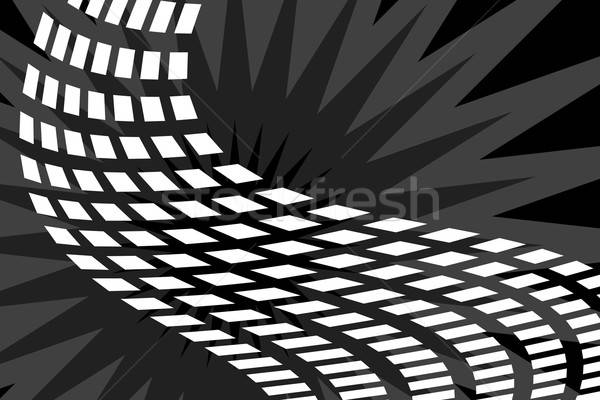 Abstract Squares Trail Stock photo © ArenaCreative