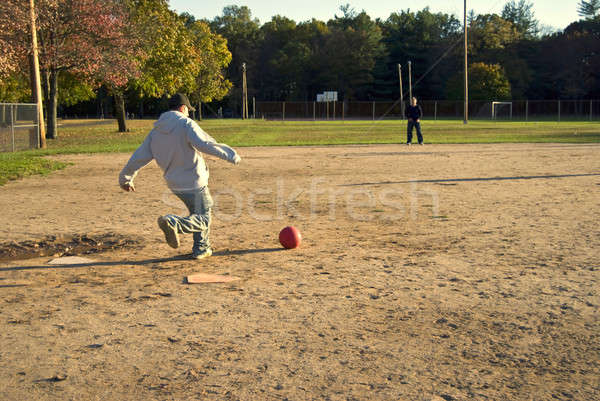 Kickball Stock photo © ArenaCreative
