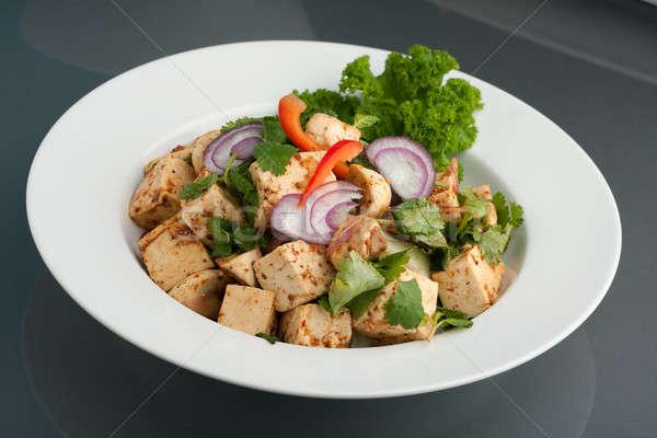 тайский Тофу блюдо свежие тайская еда Сток-фото © ArenaCreative