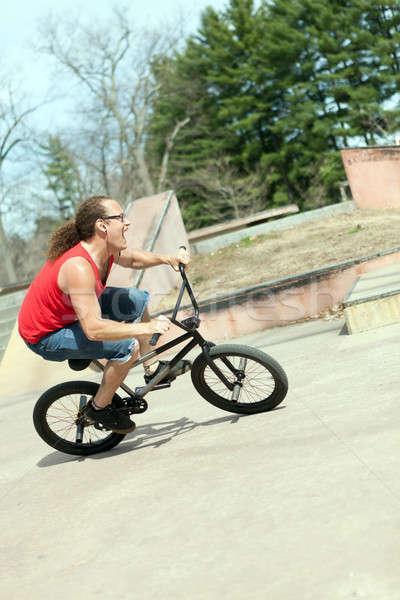 BMX Rider Having Fun Stock photo © arenacreative