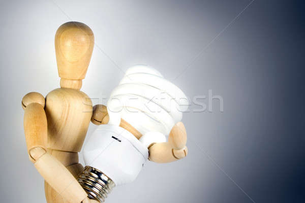 Compact Fluorescent Bulb Stock photo © ArenaCreative