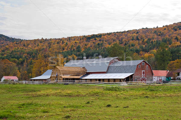 Barn Raising Stock photo © ArenaCreative