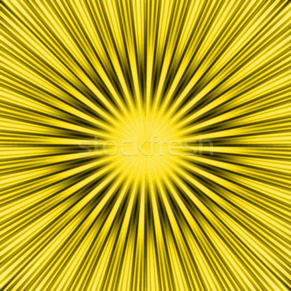 Yellow SunBurst Stock photo © ArenaCreative