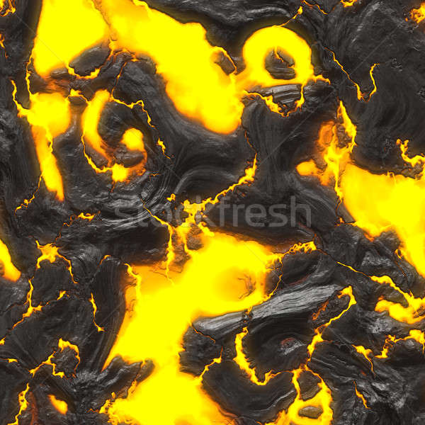 Hot lava 3d illustration textuur abstract Stockfoto © ArenaCreative
