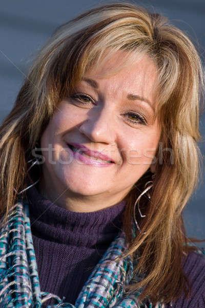 Smiling Woman Stock photo © ArenaCreative