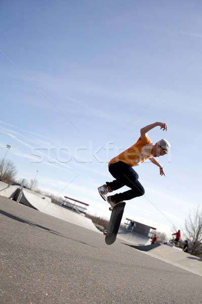 Skateboarding Tricks Stock photo © ArenaCreative
