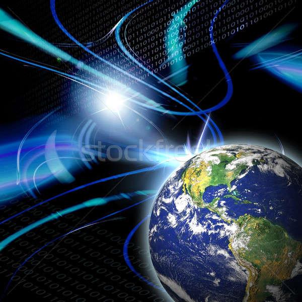 Global Communication  Stock photo © ArenaCreative