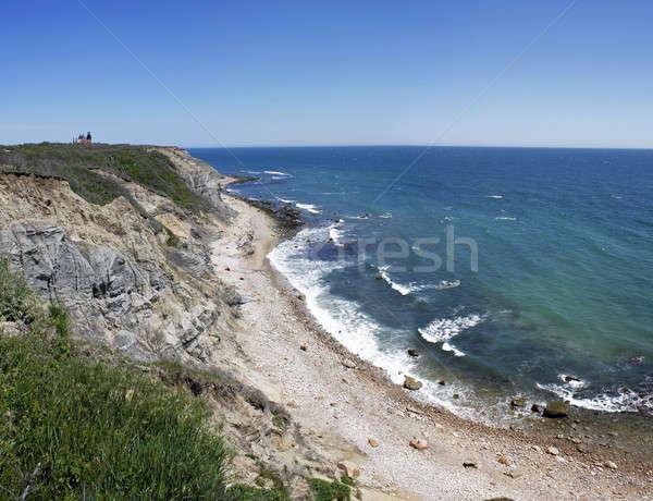 Mohegan Bluffs Block Island RI Stock photo © ArenaCreative