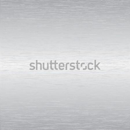 Vektor alumínium rozsdamentes acél csempék minta kép Stock fotó © ArenaCreative