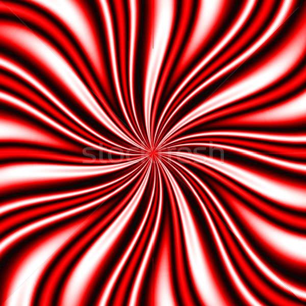 Red Swirly Vortex Stock photo © ArenaCreative