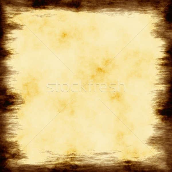 Grungy Parchment Frame Stock photo © ArenaCreative