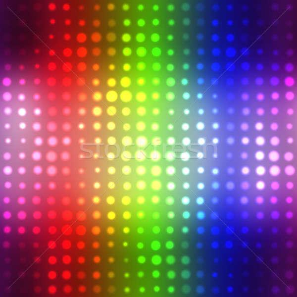 Glowing Halftone Dots Texture Stock photo © ArenaCreative