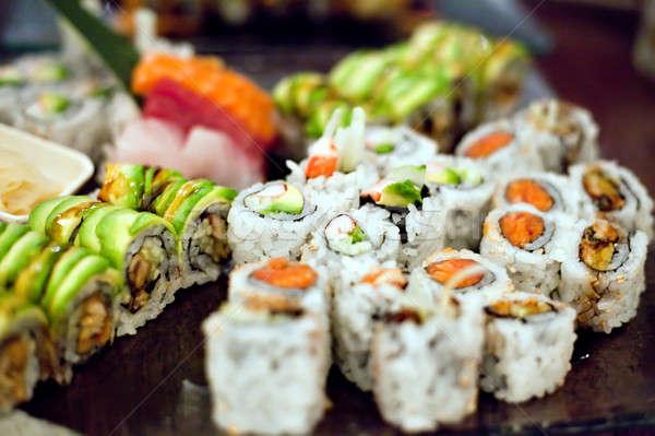 Sushi Rolls Variety Stock photo © ArenaCreative