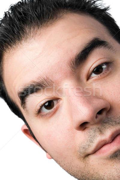 Young Man Close Up Stock photo © ArenaCreative