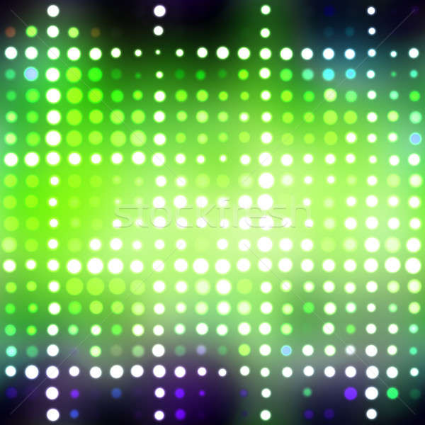 Glowing Green Dots Stock photo © ArenaCreative