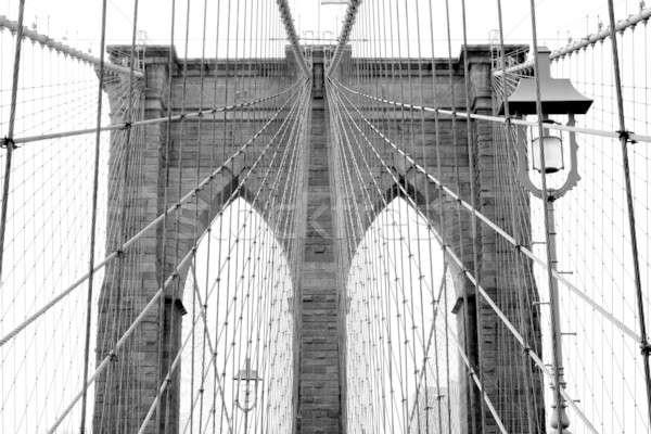 Brug beroemd historisch New York City gebouw reizen Stockfoto © ArenaCreative