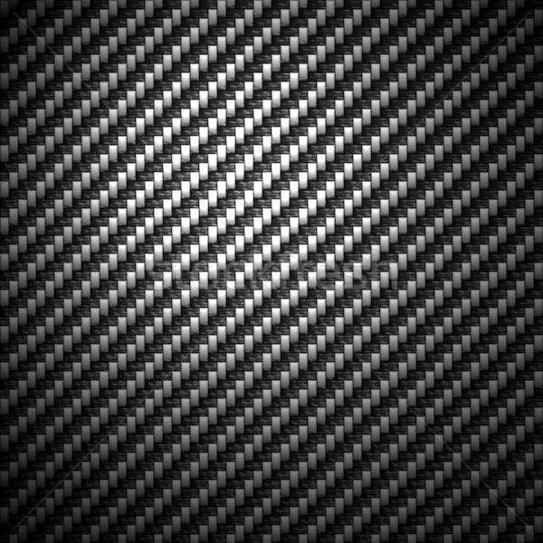 Koolstofvezel materiaal super gedetailleerd koolstof doek Stockfoto © ArenaCreative