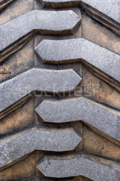 Heavy Duty Tire Tread Stock photo © ArenaCreative