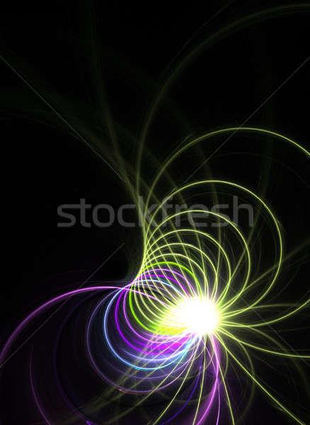 Rainbow Fractal Stock photo © ArenaCreative