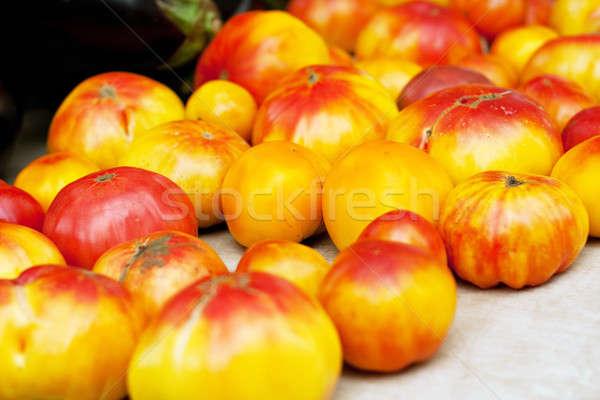 Fresh Heirloom Tomatoes Stock photo © ArenaCreative