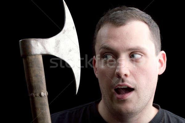 A Man Getting the Axe Stock photo © ArenaCreative