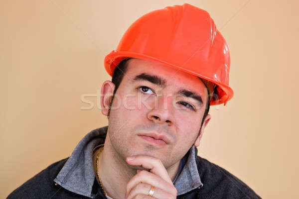 Contemplative Worker Stock photo © ArenaCreative