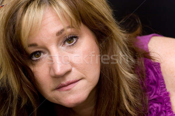 Middle Aged Woman Stock photo © ArenaCreative