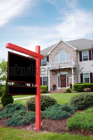 Real Estate For Sale Sign Stock photo © ArenaCreative