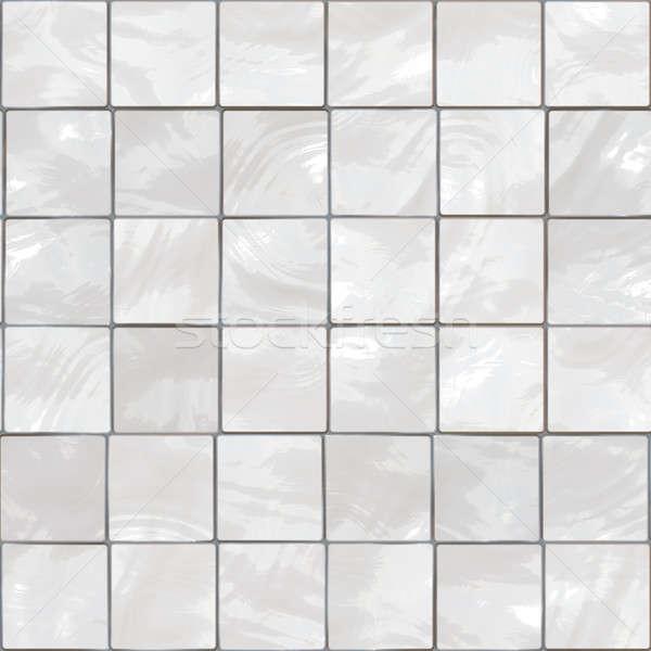 White tiles Stock photo © ArenaCreative
