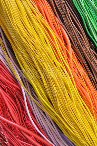 Cables ordenador redes negocios oficina Foto stock © Arezzoni