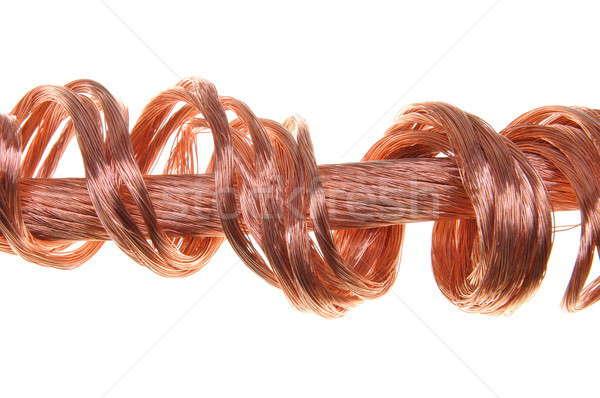Copper wires Stock photo © Arezzoni