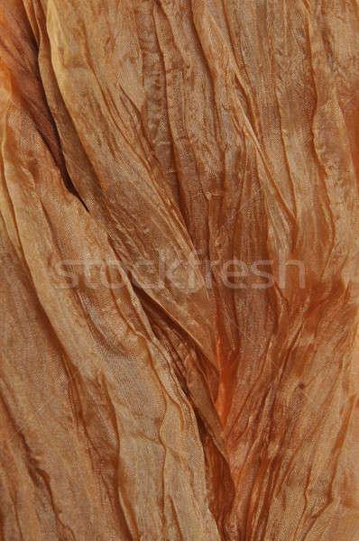 Marrón raso resumen arte tejido ola Foto stock © Arezzoni