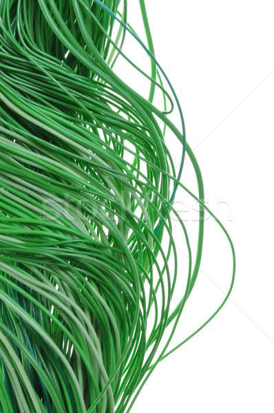 Bundles of green cables Stock photo © Arezzoni