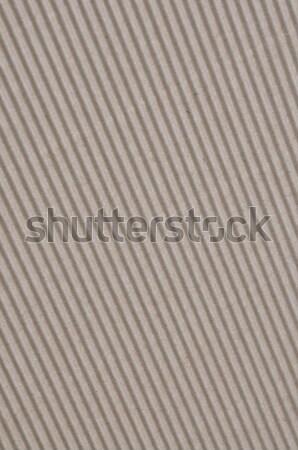Corrugated cardboard  Stock photo © Arezzoni