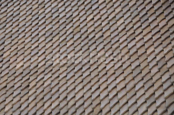 Wooden roof shingle  Stock photo © Arezzoni
