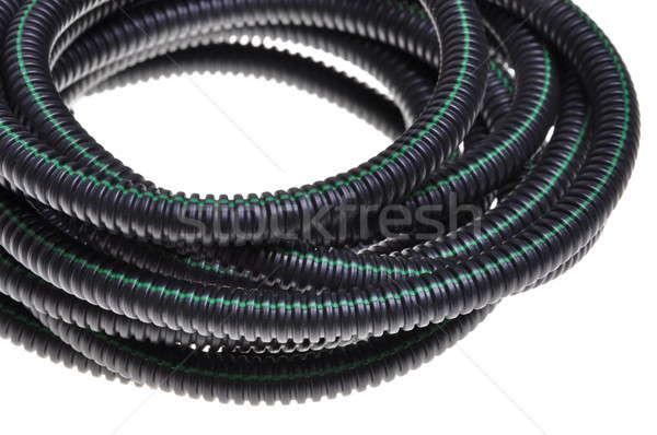 Stockfoto: Buis · gebruikt · elektrische · installatie · abstract · technologie