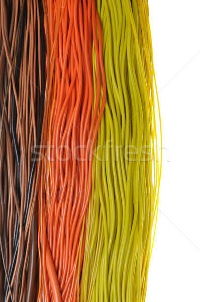 Multi-colored wires Stock photo © Arezzoni