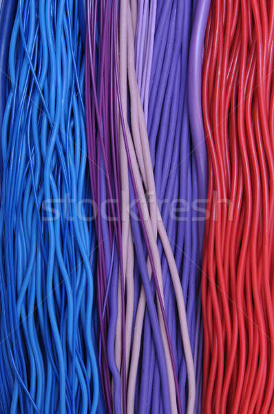 Multi-colored wires in networks  Stock photo © Arezzoni