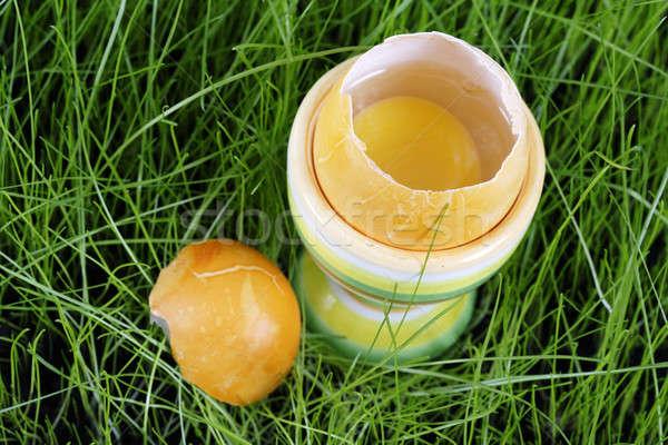 イースターエッグ イースター カラフル エッグカップ ストックフォト © Ariusz