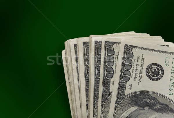Stok fotoğraf: Dolar · 100 · banka · nakit · zengin · ABD