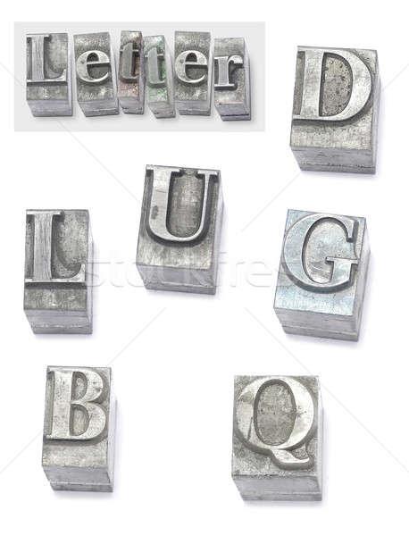 letter Stock photo © Ariusz