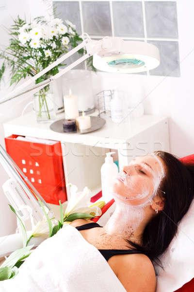 Temizlik rahatlatıcı güzellik salonu kadın el kadın Stok fotoğraf © Ariusz